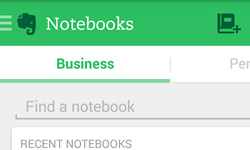 Step 2: Organize with notebooks