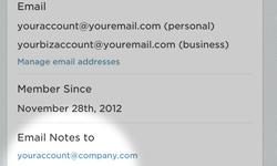 Stuur e-mails door naar Evernote