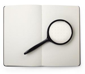 Moleskine paper dot grid