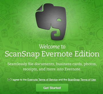 Setting up the scanner – Evernote Help & Learning